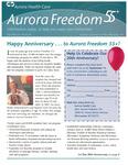 Aurora Freedom 55 Plus, Fall 2006