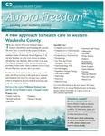 Aurora Freedom Plus, Volume XIII, No. 1, Spring 2010