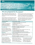 Aurora Freedom Plus, Volume VII, No. 4, Winter 2009