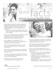Quick Facts about Aurora Health Care
