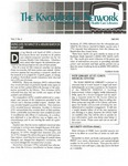 The Knowledge Network Newsletter of the Aurora Health Care Libraries Volume 2, No. 3, Fall 1993