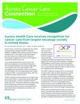 Aurora Cancer Care Connection, Volume 2, Issue 1, Winter 2013-2014 by Aurora Health Care