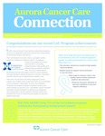 Aurora Cancer Care Connection, Edition 11, 2015