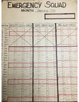 Emergency Squad schedule, January 1976 by Aurora Health Care