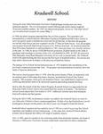 History of Kradwell School, by Mark Bialzik by Jonathan T. Van Beckum