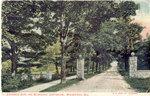 Original Entrance Gate to the Milwaukee Sanitarium