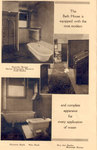 Hydrotherapy Equipment in the Bath House, Milwaukee Sanitarium
