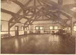 Interior image of the Gymnasium building at the Milwaukee Sanitarium