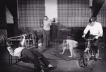 Staff, or patients, working out in the Gymnasium, Milwaukee Sanitarium