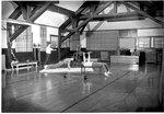 Working out in the Gymnasium, Milwaukee Sanitarium