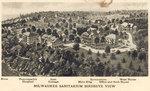 Postcard of the Milwaukee Sanitarium, circa 1914
