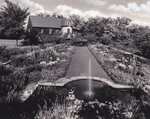 Formal Gardens Behind the Director's House, Milwaukee Sanitarium
