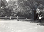 Tennis Court at the Milwaukee Sanitarium