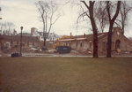 Roofing going on Unit C of the new Milwaukee Psychiatric Hospital, December 2, 1982