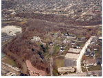 Aerial photograph of the Milwaukee Psychiatric Hospital Grounds, 1960's-1970's
