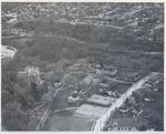 Aerial view of Milwaukee Sanitarium, 1950-1960's