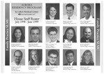 Aurora Residency Programs House Staff Roster, 1998-1999