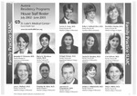 Aurora Residency Programs House Staff Roster, 2002-2003
