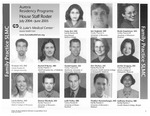 Aurora Residency Programs House Staff Roster, 2004-2005