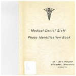 Medical - Dental Staff photo identification, 1974