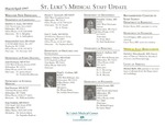 St. Luke's Medical Staff Update, 1997