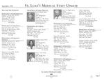 St. Luke's Medical Staff Update, September 1996