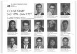 ASLMC House Staff, 1996 - 1997
