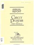 1985 Annual Report: Cancer Program (1985 Statistics)