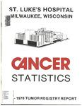 Cancer Statistics: 1972-1978 Tumor Registry Report