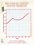 1981 Annual Report Cancer Registry by Aurora Health Care