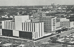 St. Luke's Hospital with Knisely Building - aerial view