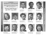 Aurora Residency Programs Sinai Samaritan Medical Center House Staff Roster, 1999-2000