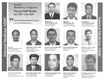 Aurora Residency Programs Aurora Sinai Medical Center House Staff Roster, 2003-2004