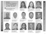 Aurora Residency Programs Aurora Sinai Medical Center House Staff Roster, 2009-2010 by Aurora Health Care