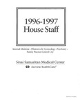 Sinai Samaritan Medical Center House Staff, 1996-1997 by Aurora Health Care