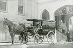 Horse-drawn ambulance