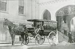 Horse-drawn ambulance
