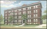Evangelical Deaconess Hospital postcard