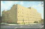 Deaconess Hospital building illustration, 1960s
