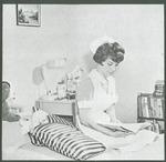 Nurse reading