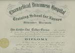 Evangelical Deaconess Hospital Training School for Nurses diploma