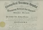 Evangelical Deaconess Hospital Training School for Nurses diploma