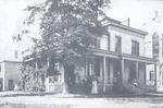 Photograph of early Milwaukee Hospital building