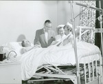Doctor and nurses with patient