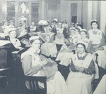 Large nurse gathering