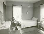 Nurses' dormitory bedroom