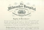 Nursing diploma