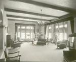 Sitting room of nurses' dormitory