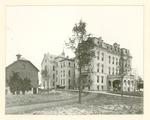 External view of Milwaukee Hospital building