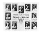 Mount Sinai School of Nursing, class of 1946 portrait